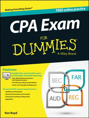 Cpa Exam for Dummies By Consumer Dummies (COR)